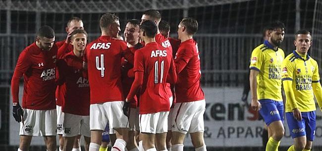 Foto: Pijnlijke nederlaag voor Cambuur, Jong PSV klopt TOP Oss