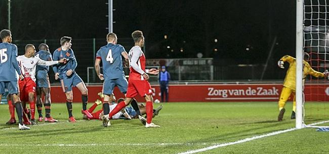 Foto: Jong FC Utrecht boekt oefenzege op bezoek bij Ajax-beloftes