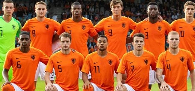 Foto: Kijkers halen snoeihard uit naar één speler van Jong Oranje vanavond