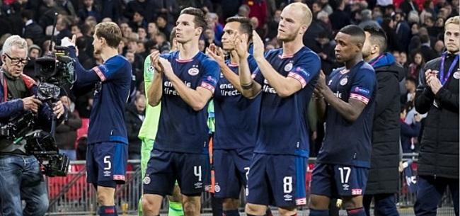 Foto: Walgelijke gebeurtenis op Wembley: 10-jarige PSV-fan stadion uitgegooid
