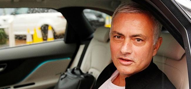Foto: Mourinho flirt weer: