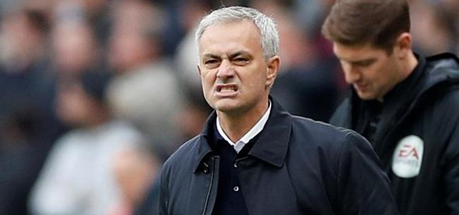 Foto: Mourinho uit onvrede: 'Misschien moet hij een andere zaakwaarnemer nemen'