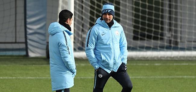 Foto: Guardiola onder de indruk: