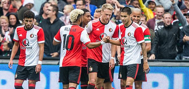 Foto: Veel schrik bij Feyenoord na blessure op training