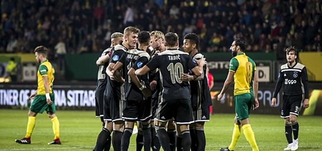 Foto: 'Ik weet niet of ik volgend seizoen nog wel voor Ajax speel'