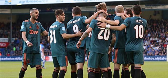 Foto: Kampioenschap officieel naar Ajax na zege op De Graafschap