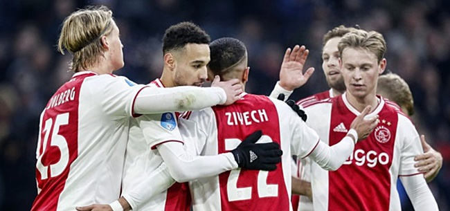 Foto: Verbeek: 'Ajax heeft eindelijk het licht gezien'