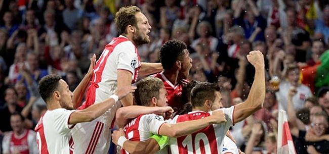 Foto: Opstelling Ajax tegen Benfica: Ten Hag komt met aanpassing