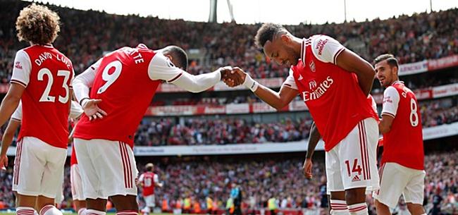 Foto: Arsenal wint ook van Burnley en staat op zes uit twee