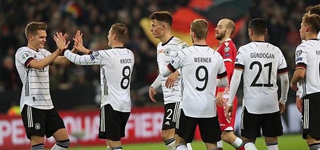 Foto: Ook Duitsland mag zich opmaken voor EK: winst op Wit-Rusland