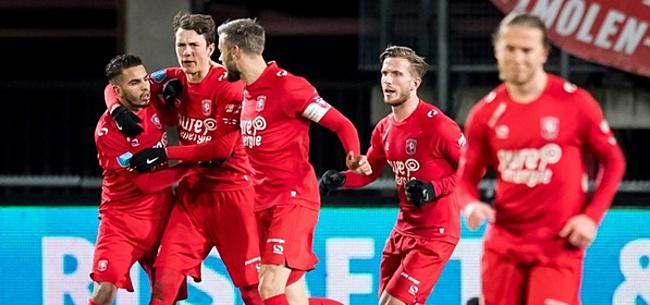 Foto: FC Twente lacht weer: 'De verstikkende deken is weg'