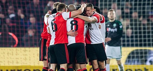 Foto: Feyenoorders roepen massaal om basisplek voor 'redder'