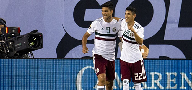 Foto: Mexico wint ook laatste groepsduel en stoomt door