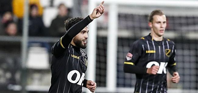 Foto: Reuzendoder NAC Breda 'voetbalde prima'