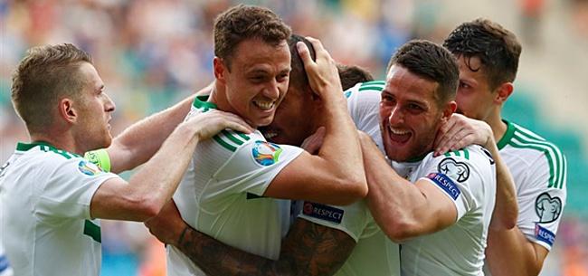 Foto: Geen verrassingen in Noord-Ierse selectie tegen Nederland