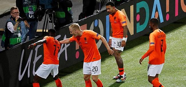 Foto: Buitenland gaat helemaal los over Oranje-speler: 'Bizar'