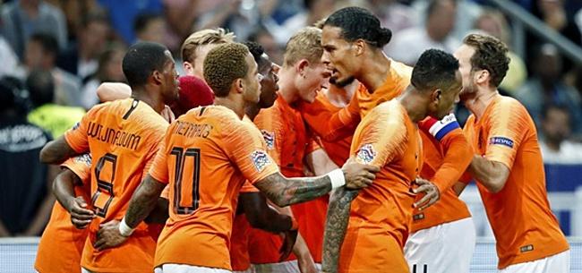 Foto: Reservebeurt flinke klap in het gezicht van Oranje-international