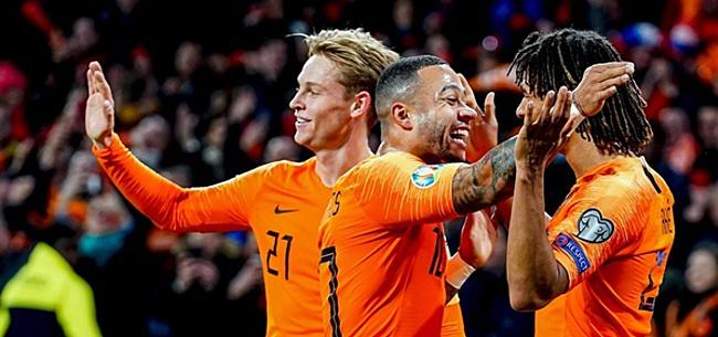 Foto: Oranje blijft UEFA-klassement domineren: Memphis beste speler
