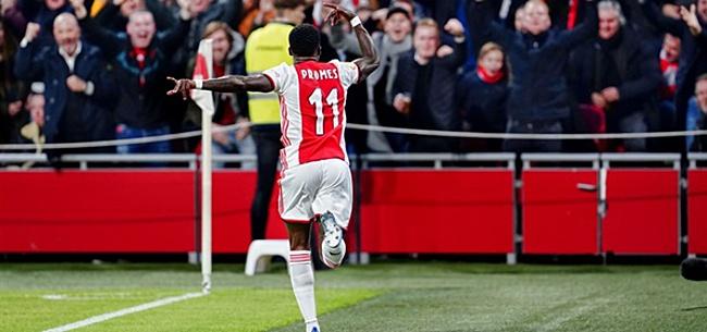 Foto: Promes bezorgt Ten Hag én Koeman glimlach op Ajax-training