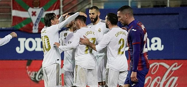 Foto: 'Enorme klap voor Real Madrid in aanloop naar El Clásico'