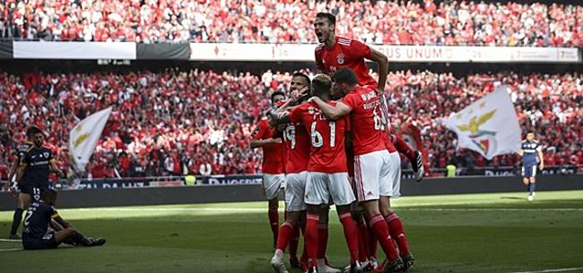 Foto: Benfica wint van Santa Clara en is landskampioen
