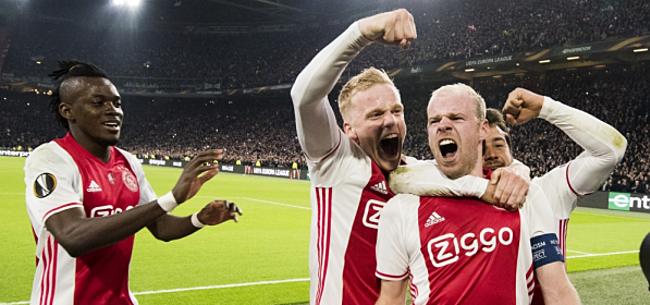 Foto: Ajax-captain Klaassen spreekt zich uit over spitspositite