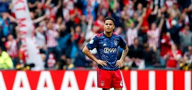 Foto: Ajax gekraakt: 'Was dat maar het enige probleem...'