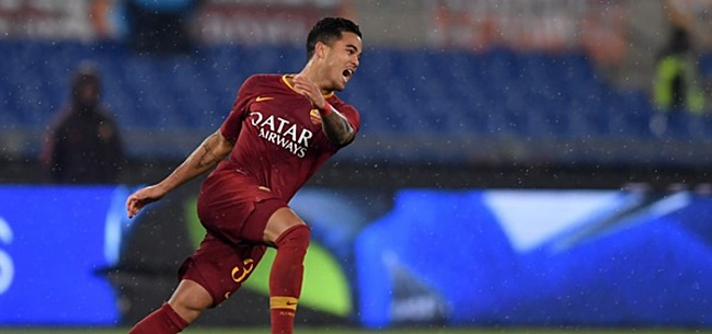 Foto: Justin Kluivert: 'Het niveau ligt veel hoger bij AS Roma'