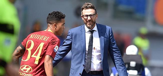 Foto: Fantastisch nieuws voor Justin Kluivert bij AS Roma