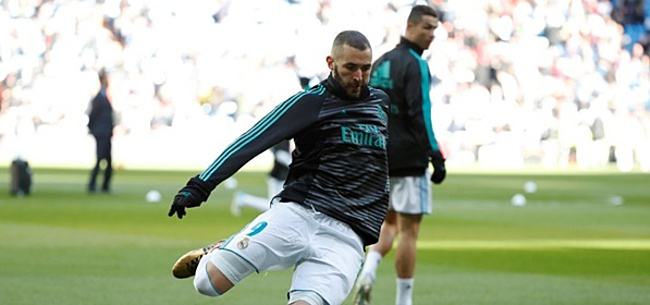 Foto: 'Benzema kiest voor concurrent na pijnlijke afwijzing Napoli'