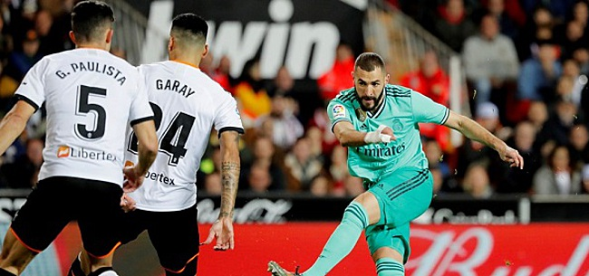Foto: Real Madrid pas in slotseconden naast Valencia, Inter morst
