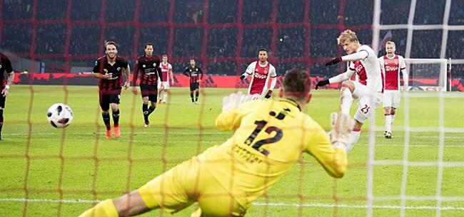 Foto: '80 miljoen weiger je niet, het is maar te hopen dat Ajax goede back-ups heeft'