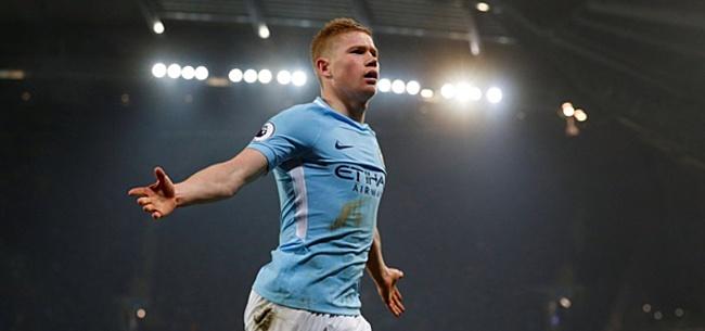 Foto: 'De Bruyne opgetogen over komst superster naar Manchester City'