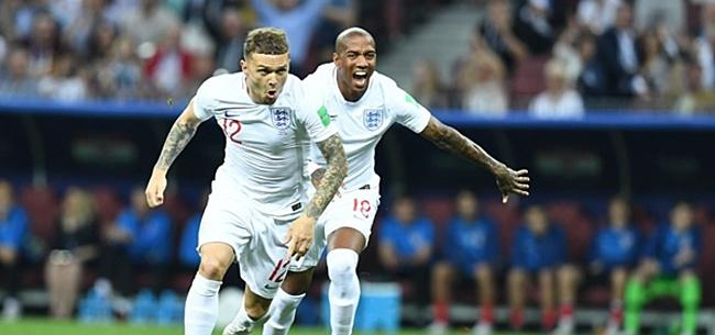 Foto: VIDEO: Engelse fans gaan helemaal uit hun plaat na openingstreffer
