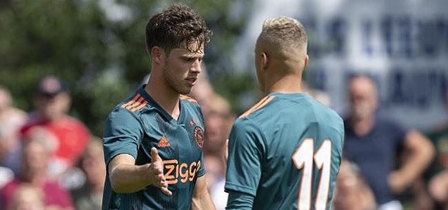 Foto: Jong Ajax opent in Oss: Pierie in basis tegen TOP Oss