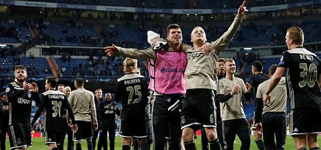 Foto: Van de Beek over Ronaldo: