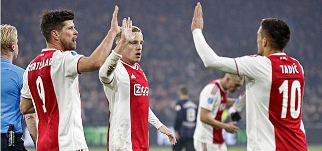 Foto: 'Ajax-aanwinst zorgt direct al voor spanning'