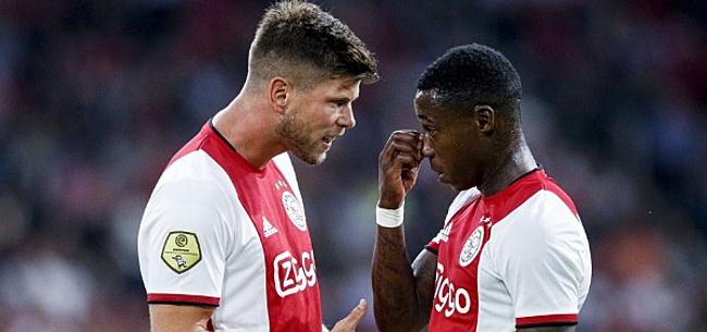 Foto: Promes bezorgt Ajax meevaller voor beslissende wedstrijd