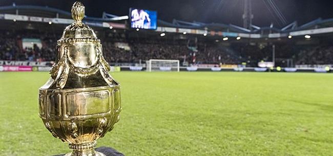 Foto: Nog eens zes profclubs zeggen KNVB Beker vaarwel na één wedstrijd