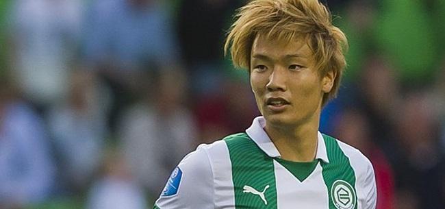Foto: FC Groningen-speler over Japanse tyfoon: