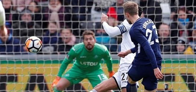 Foto: Eriksen blinkt uit in FA Cup-duel bij Swansea