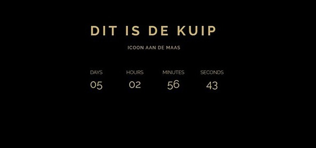 Foto: Mysterieuze aflopende klok brengt Feyenoord-fans het hoofd op hol