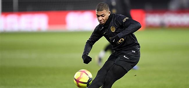Foto: 'PSG onthult: voor dit transferbedrag is Kylian Mbappé te koop'