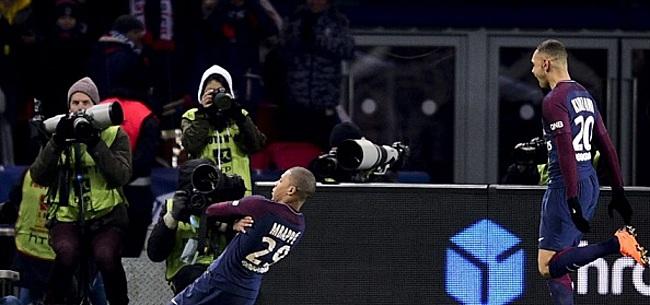 Foto: PSG koerst af op overwinning na ruime zege op achtervolger