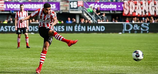 Foto: Sparta haalt PSV-middenvelder definitief naar Het Kasteel