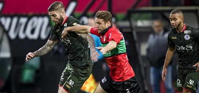 Foto: Sparta voorkomt nederlaag in slotfase, maar verliest wel koppositie