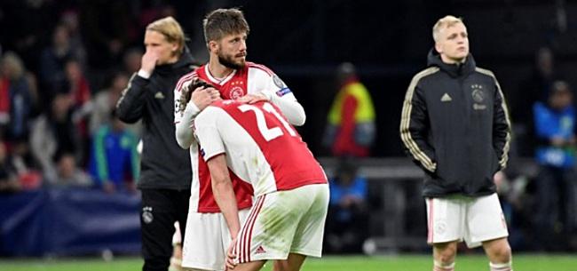 Foto: Schöne over doelpunt van het jaar voor Ajax: