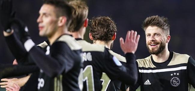 Foto: Schöne verzekert: 'Niemand denkt dat bij Ajax'