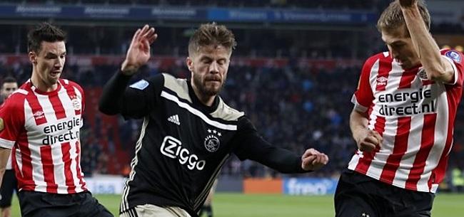 Foto: 'Als ik moet kiezen tussen Ajax en PSV, dan kies ik PSV'