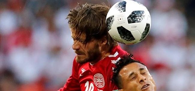 Foto: Schöne loopt hoofdwond op na elleboogstoot: 'Hoop dat m'n oren nog te zien zijn'